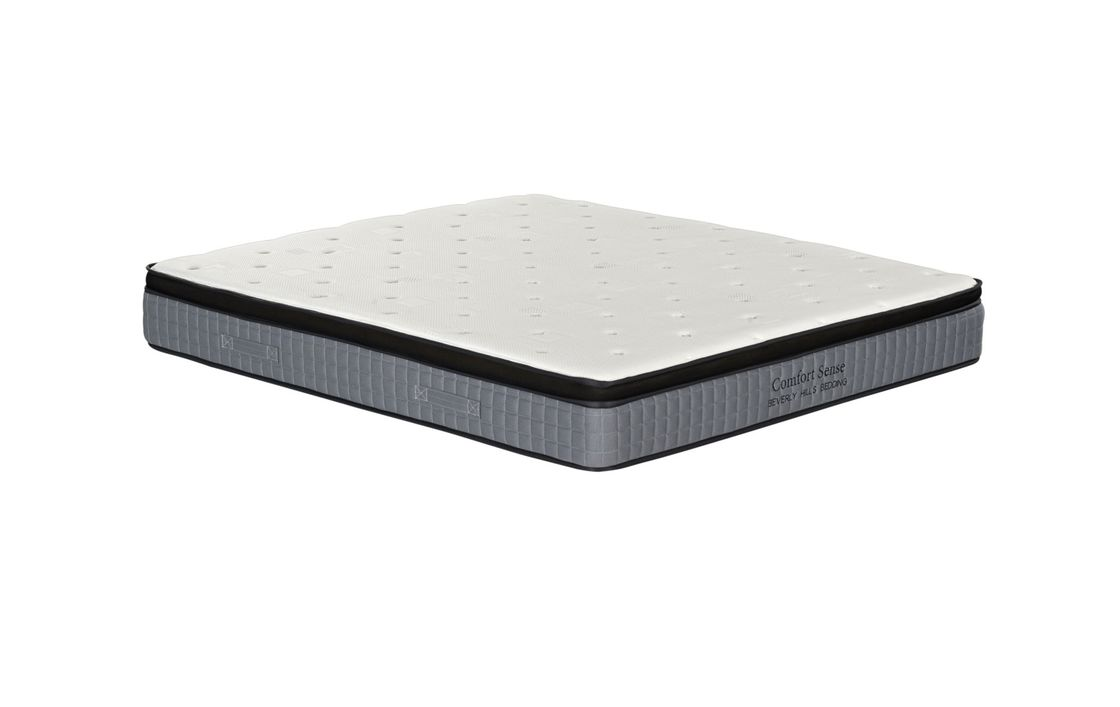 Medium Hardness Spring Foam Mattress For Hotel And Apartment ISO 9000